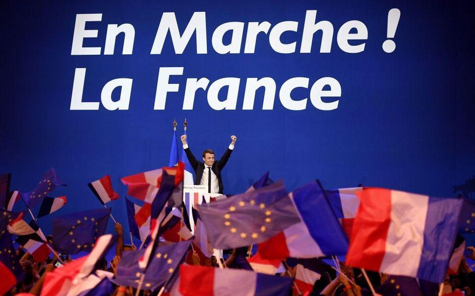 Macron Wins